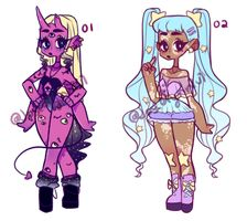 OPEN SET PRICE ADOPTABLES (1/8) by Joscelynn7u7 on DeviantArt Cute Art Styles, Cartoon Art Styles, Art Style Challenge, Drawing Anime Clothes, Clothing Sketches, Fashion Design Drawings, Digital Art Girl, Human Art, Anime Outfits