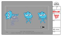 I've worked as lead character designer on The Amazing World of Gumball season 3.Here're a selection of characters and costumes.