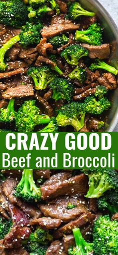 This Beef and Broccoli is better than takeout! Make this easy Beef and Broccoli at home in under thirty minutes! Find out my secret tip to make the beef extra tender. beef steak BEEF AND BROCCOLI RECIPE Beef And Brocolli, Easy Beef And Broccoli, Broccoli Recipes, Meat Recipes, Asian Recipes, Cooking Recipes, Healthy Recipes, Easy Beef Recipes, Avocado Recipes