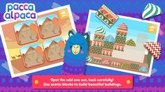 Travel Playtime invites your little one to go on a magical journey around the world, exploring exotic locations, and learning about flags and music from each country.