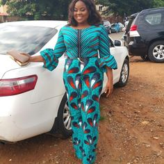 Jumpsuit Ankara Styles for Smart Looking Africa Ladies - DeZango Fashion Zone