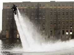 Yo! Anyone can buy or rent a jetski... But, how many people can say they own an awesome water jet pack by Jetlev... Taking water jetting to a whole new level (literally)... The price will surely damping your pocket at $100,000 (if you got that kind of cash to splash; then this toy is so worth it).