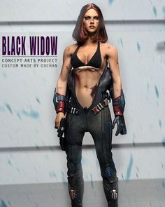 I admit this one is a bit silly. Likely a result of not being able to put a seamless body in the suit. A common issue. Still, very well done. Marvel Girls, Comics Girls, Marvel Art, Marvel Heroes, Marvel Comics, Black Widow Marvel, Military Girl, Custom Action Figures, Figure Model