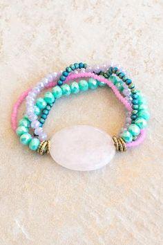 under the sea stone bracelet