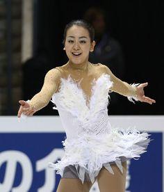フリーで軽やかに舞った浅田。銅メダルを獲得した  http://photo.sankei.jp.msn.com/essay/data/2013/03/17figure/