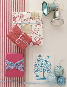 Shabby Chic Interiors: L'arte del pacchetto regalo