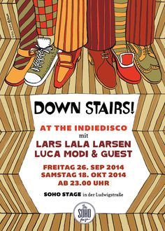 Down Stairs! at the Indiedisco (Fall-Version)