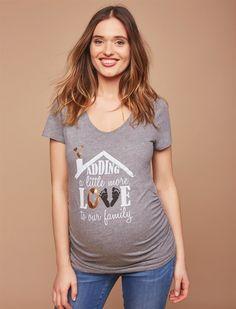 723b5566d3df0 Adding A Little Love Maternity Tee | Motherhood Maternity Halloween Shirt,  Halloween Pregnancy Shirt,