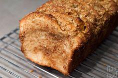 flair food: Skořicovo-ořechový trhací chlebíček