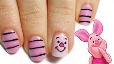 15 Adorable Disney Nail Art Ideas for Kids Loading. 15 Adorable Disney Nail Art Ideas for Kids Nail Art For Girls, Nails For Kids, Girls Nails, Nail Art Kids, Simple Nail Art Designs, Cute Nail Designs, Easy Nail Art, Animal Nail Designs, Nail Art Disney