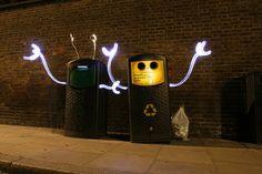 Light Graffiti Artist Lichtfaktor   Light Painting Photography