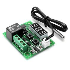 DC 12V -50~110C Mini Thermostat Regulator Digital Temperature Controller for Incubator Temperature Control Switch Plate Popular