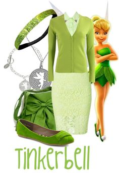"""""""Tinkerbell"""" by jami1990 ❤ liked on Polyvore"""