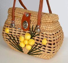 Boxy Straw purse: Love it