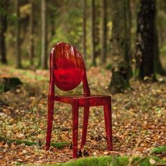 Philippe Starck in Norwegian Autumn Coulours! #skogendesign