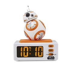 Budík BB-8™ Shops, Flip Clock, Digital Alarm Clock, Bb, Favorite Things, Alarm Clock, Simple, Gifts, Tents
