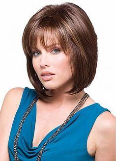 Brown Medium Hairstyle