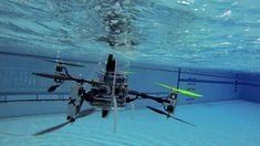 New Underwater Drone Flies AND Swims