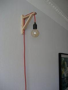 DIY Light for above bed