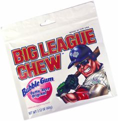 Image result for big league chew and sunflower seeds