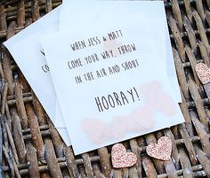 10 Confetti bags personalised/ Wedding favours/party shabby chic /vintage