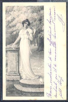 QL183 MM VIENNE Nr 154 TARRANT KENDRICK ? Elegant LADY DOVES 1904