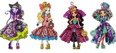 Ever After High Way Too Wonderland Artworks