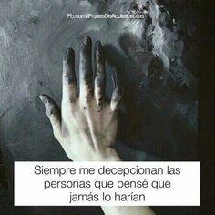 #frases #decepcionan