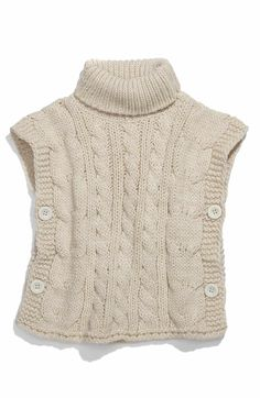 Main Image - United Colors of Benetton Kids Sweater Vest (Little Girls & Big Girls)