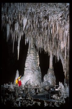 Carlsbad Caverns, always have wanted to go! My kid would LOVE this too!