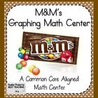 FUN...Math Graphing Center... I just finished my M graphing and my Skittles graphing Math Centers. Check them out. My kiddos LOVE these.