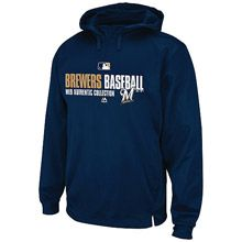 Milwaukee Brewers Authentic Collection Team Favorite Hooded Fleece by  Majestic Athletic Milwaukee Brewers 066e288ce8d9