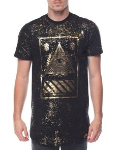 Find Foil Print Eye of Providence Tee Men's Shirts from Buyers Picks & more at DrJays. on Drjays.com