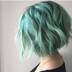 "981 Likes, 10 Comments - Pulp Riot Hair Color (@pulpriothair) on Instagram: ""Aquatic, Smoke, and Sea Glass... @hairographybykait is the artist... Pulp Riot is the paint."""
