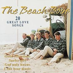 beach boys | Beach Boys 20 Great Love Songs Album Cover, Beach Boys 20 Great Love ...