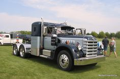 MSCC Throwback Thursday--great 2012 story about a very cool truck: http://mystarcollectorcar.com/january-2013-and-now-for-something-completely-different-a-1951-diamond-t-semi/ #51DiamondT