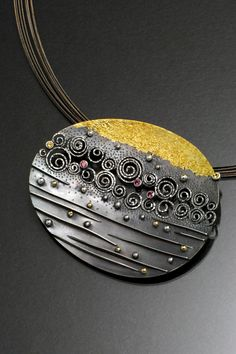 The Stream of Life by Sooyoung Kim of  Hopatcong, N.J. 2013 NICHE Awards Finalist. Category: Jewelry, Fine