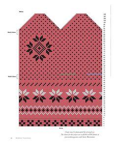 Krāsaini cimdu raksti - Rokdarbu grāmatas un dažādas shēmas Knitted Mittens Pattern, Knit Mittens, Knitted Gloves, Knitting Charts, Free Knitting, Knitting Patterns, Fair Isle Chart, Little Cotton Rabbits, Fair Isle Knitting