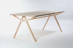 KEYSTONES      AN EVOLUTION OF THE PROTOTYPES PRESENTED IN 2012, THESE 3D PRINTED CONNECTORS, THAT CAN CREATE VARIOUS FURNITURE PIECES BY INSERTING SIMPLE BEAMS HAVE BEEN OPTIMIZED IN VARIOUS WAYS. THE ADDITIONAL PARTS CAN BE SIMPLE BEAMS CUT...