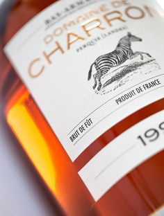 Bas Armagnac Domaine de Charron 100% Brut de Fût