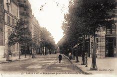 avenue Mozart - Paris 16ème Mozart, Arrondissement, Belle Epoque, Street View, Outdoor, Antique Pictures, Outdoors, Outdoor Games