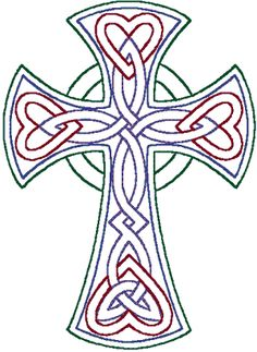 PATTERN CELTIC CROSS | Cross Stitch