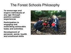 The Forest Schools Philosophy