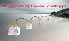 Jose Guijarro's global project evaluation: The monster proje Digital Storytelling, New Technology, Reflection, Presentation, Writing, Learning, Projects, September, Students