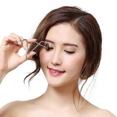 Cosmetic Makeup Tool Stainless Steel Local Eyelash Curler #women, #men, #hats, #watches, #belts, #fashion