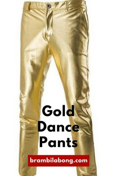 Gold Dance Pants