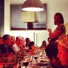 The amazing @lela_rose speaking on behalf of a great cause @edibleschoolyrd