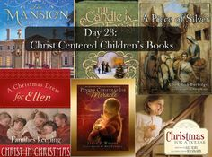 Christ Centered Christmas Stories- way better than reading Santa ones...