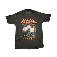 Y&F Black T-Shirt - Real Love - Hillsong Store Australia