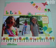 March 2nd, echo park layout... of my youngest girl.  By Kimberly congdon